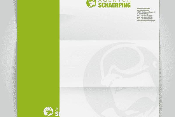 Gestaltung eines Briefbogens
