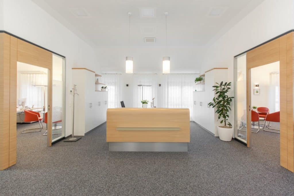 Bürofoto der Raiffeisenbank