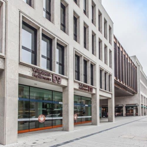Architekturfotografie Heilbronner Volksbank